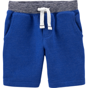 Carter's Toddler Boys Blue Knit Shorts