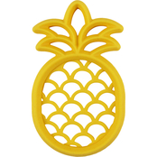 Itzy Ritzy Teething Happens Silicone Teether, Pineapple
