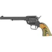 Heritage Rough Rider 22 WMR 22 LR 6.5 in. Barrel 6 Rnd Revolver Black