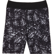 Pony Tails Girls Coral Freeze Active Printed Shorts