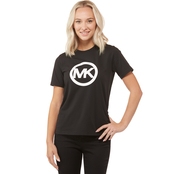 Michael Kors Circle Logo Rubber Tee