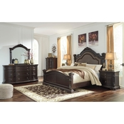 Signature Design by Ashley Wellsbrook 5 pc. Poster Bed Set