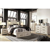 Signature Design by Ashley Cambeck Footboard Storage Bed 5 pc. Set