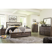 Signature Design by Ashley Brueban Storage Bed 5 pc. Set