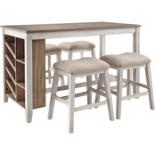 Signature Design by Ashley Skempton 5 pc. Counter Dining Set
