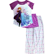 Disney Girls Frozen 3 pc. Polyester Set