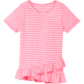 Gumballs Infant Girls Stripe Jersey Top