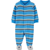 Carter's Infant Boys Stripe Sleep and Play