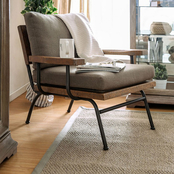 Furniture of America Santiago Accent Chair