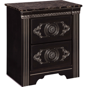 Signature Design by Ashley Banalski 2 Drawer Nightstand