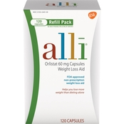 alli Weight Loss Aid Refill 120 Ct.