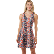 Michael Kors Floral Mix Scuba Dress