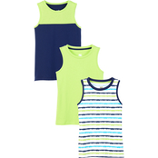 Gumballs Infant Boys Muscle Tee 3 pk.