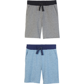 Gumballs Infant Boys Nubby Textured Shorts 2 pk.