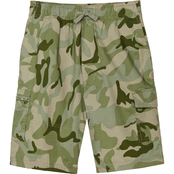 Gumballs Infant Boys Camouflage Pull On Cargo Shorts