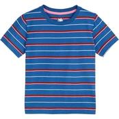 Gumballs Infant Boys Jersey Crew Neck Striped Tee