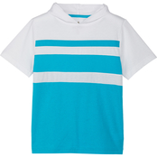 Gumballs Toddler Boys Heather Jersey Stripe Hoodie Top