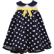Bonnie Jean Infant Girls Peter Pan Polka Dot Dress