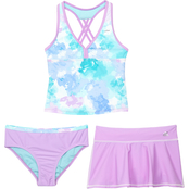 ZeroXposur Girls Cotton Candy 3 pc. Swimsuit