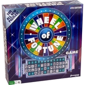 Goliath Games Wheel of Fortune Game 4th Edition