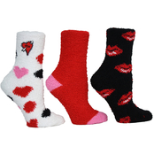Betsey Johnson Cozy Socks 3 pk.