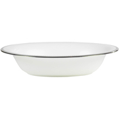 Vera Wang Wedgwood Grosgrain 9.7 in. Open Vegetable Bowl