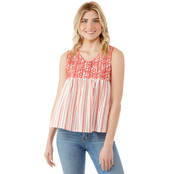 JW Embroidered Yoke Tank