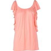 JW Cascade Ruffle Knit Top