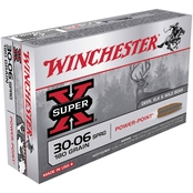 Winchester Super-X .30-06 180 Gr. Power Point, 20 Rounds