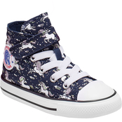 Converse Toddler Girls Chuck Taylor All Star 1V High Top Shoes