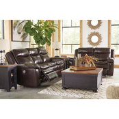 Signature Design by Ashley Lockesburg 2 pc. Power Reclining Sectional
