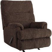 Signature Design by Ashley Man Fort Rocker Recliner