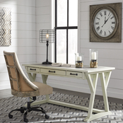 Signature Design by Ashley Jonileene Home Office Desk and Chair