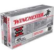 Winchester USA .45 LC 250 Gr. Lead, 50 Rounds