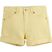 Levi's Little Girls Girlfriend Shorty Shorts
