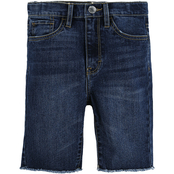 Levi's Girls High Rise Bike Shorts