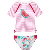 Tommy Bahama Girls Watermelon 2 pc. Rash Guard Set