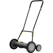 American Lawn Mower Co. Earthwise 18 in. Reel Lawn Mower with Trailing Wheels