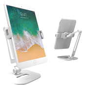 Kanto DS200 Universal Phone and Tablet Stand, White