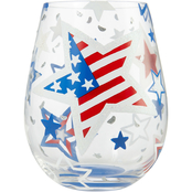 Lolita Home of the Brave Stemless Wine Glass