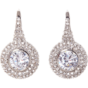 Vince Camuto Round Pave Earrings