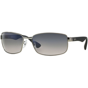 Ray-Ban 3478 Polarized Rectangle Sunglasses 0RB34780047860