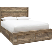 Signature Design by Ashley Rusthaven Storage Bed