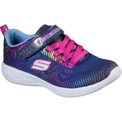 Skechers Preschool Girls GOrun 600 Shimmer Speeder Running Shoes