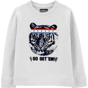 OshKosh B'gosh Little Boys Tiger Pullover Top