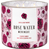 Bath & Body Works Oh Sugar Rose Water Meringue 3 Wick Candle