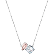 Swarovski Rhodium Plated Attract Soul Necklace