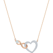 Swarovski Infinity Heart Necklace