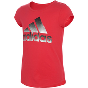 adidas Girls A1 Scoop Neck Tee