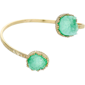 Panacea Faux Druzy Bangle Bracelet